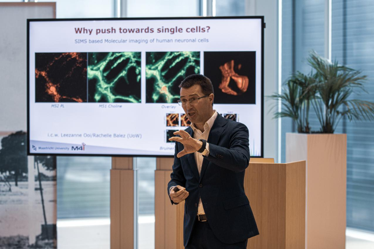 Rewatch Science Lecture by Prof Ron Heeren and Joachim Schneider of Dutch Screening Group